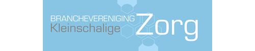 Het logo van branchevereniging Kleinschalige Zorg.